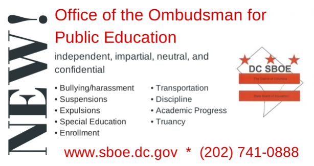 Call the Office of the Ombudsman at 202.741.0886