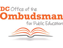 "Illustration with text ""DC Office of the Ombudsman for Public Education"""